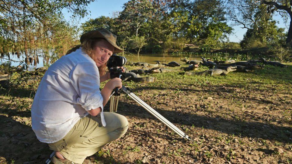Kameraman a režisér Petr Kašpar - projekt Predátor - Pantanal