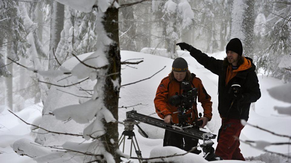 Kameraman a režisér Petr Kašpar - Sandstone