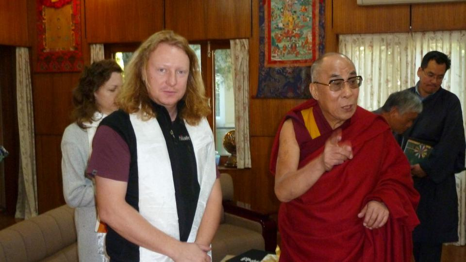 Kameraman a režisér Petr Kašpar - Tibet