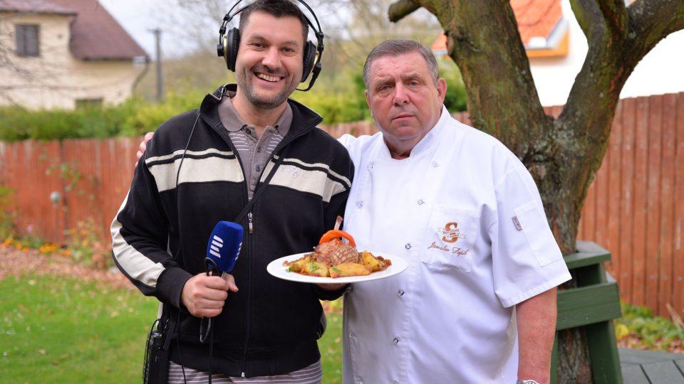 Patrik Rozehnal a Jaroslav Sapík