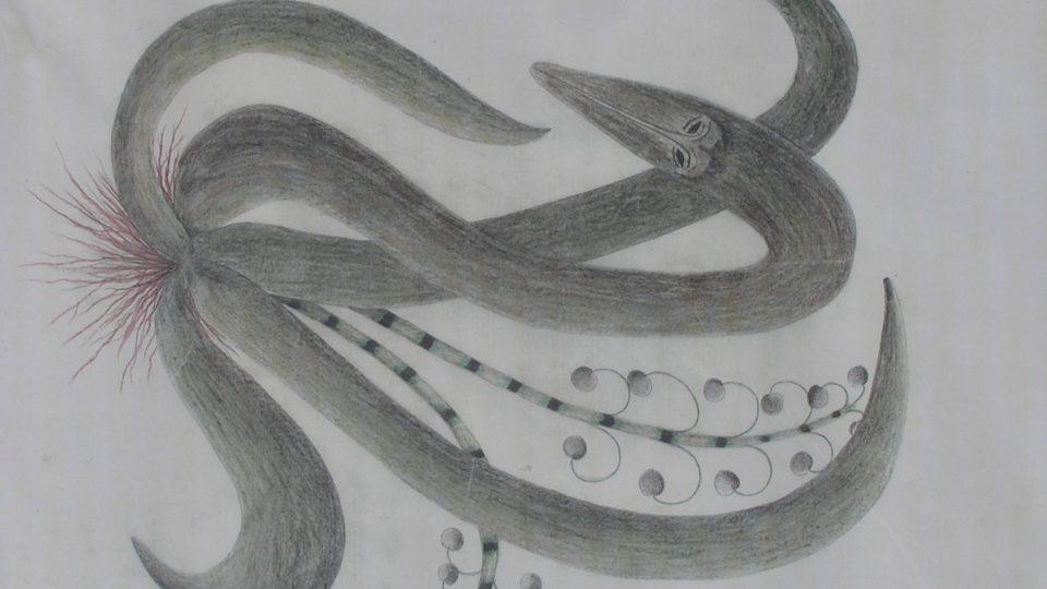 Kresba z původní medijní kolekce Josefa Tóna