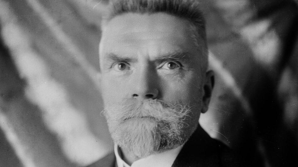 Karel Kramář, předseda první československé vlády, kolem roku 1920