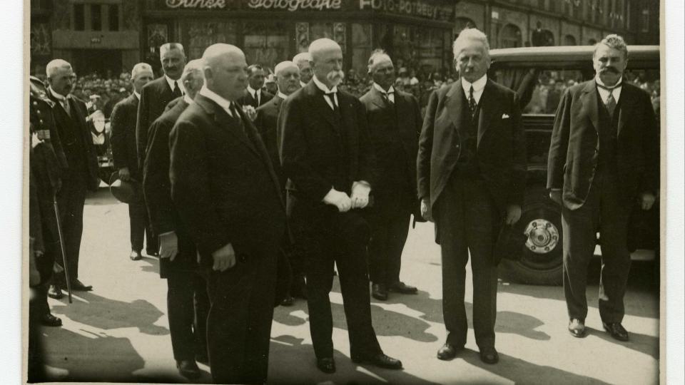 Návštěva prezidenta T. G. Masaryka v Hradci Králové, 1929