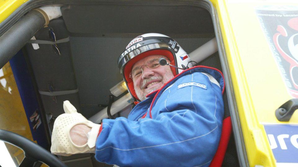 Legenda za volantem aneb Karel Loprais