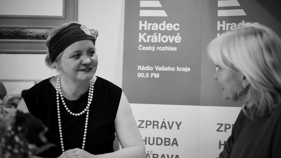 Pavlína Kvapilová představila Ladě Klokočníkové svůj projekt Elegantní Česko