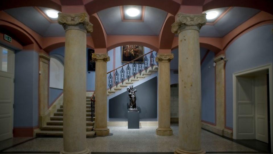 Sloupová síň Městského muzea a galerie v Hořicích