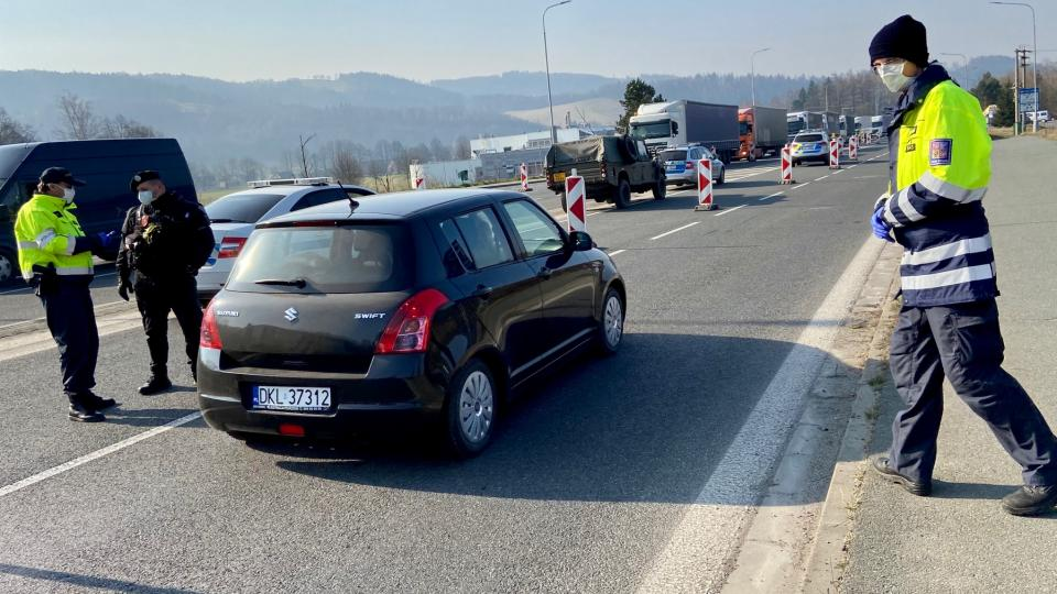 Situace na hraničním přechodu Náchod - Běloves