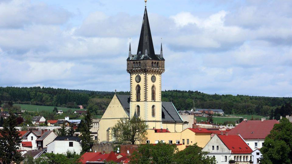 Kostel sv. Jana Křtitele ve Dvoře Králové nad Labem