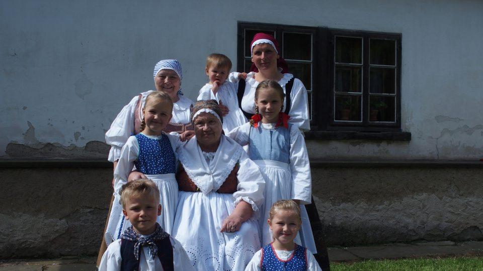 Miloslava Smetanová jako Babička v Ratibořicích