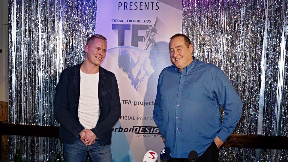 Milan Šatník & Peter Freestone - Tisková konference TFA Projektu