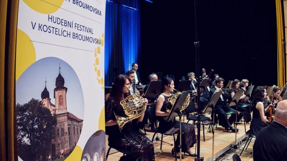 Festival Za poklady Broumovska - Zahajovací koncert 15. ročníku festivalu - Filharmonie Hradec Králové, Andreas Sebastian Weiser a Matyáš Novák