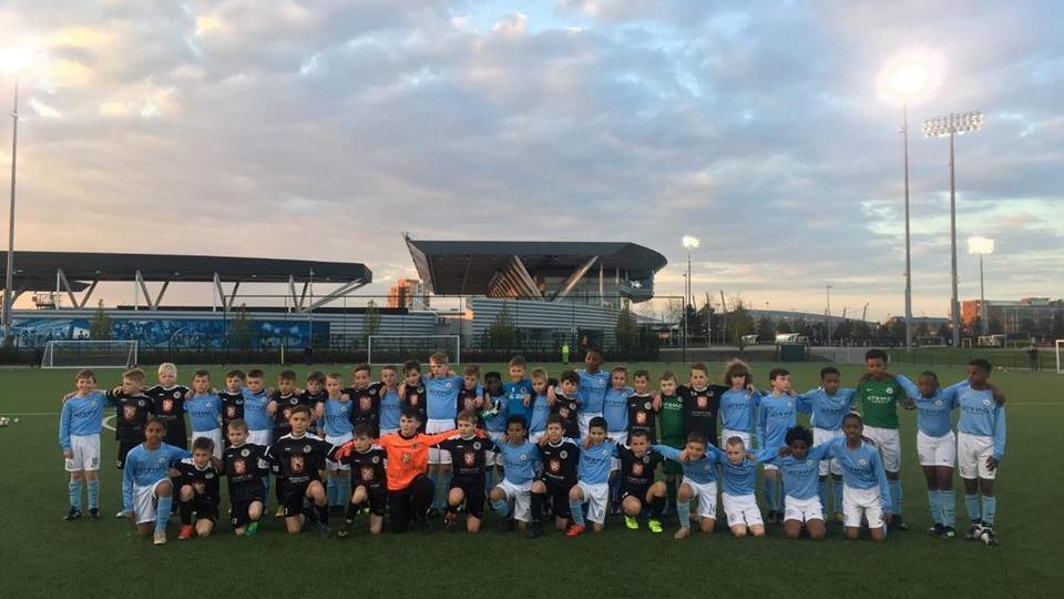 Fotbalových nebes se dotkli hráči hradeckého fotbalové klubu v kategoriích do 12 a 11 let