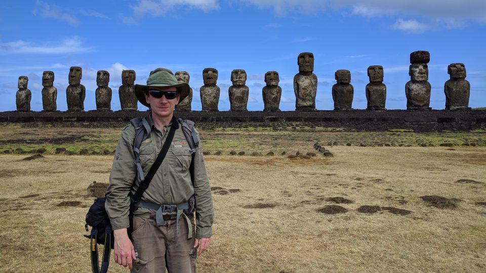 Vilém Vatrt cestoval po Velikonočním ostrově