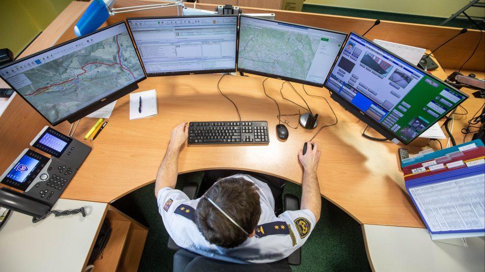Krajské operační a informační středisko hasičského záchranného sboru Královéhradeckého kraje v Hradci Králové