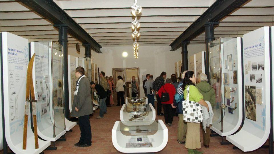 Krkonošské muzeum v Jilemnici - expozice lyžování