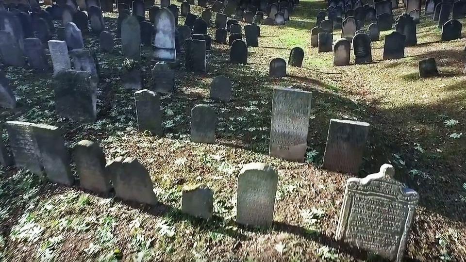Starý židovský hřbitov v Novém Bydžově