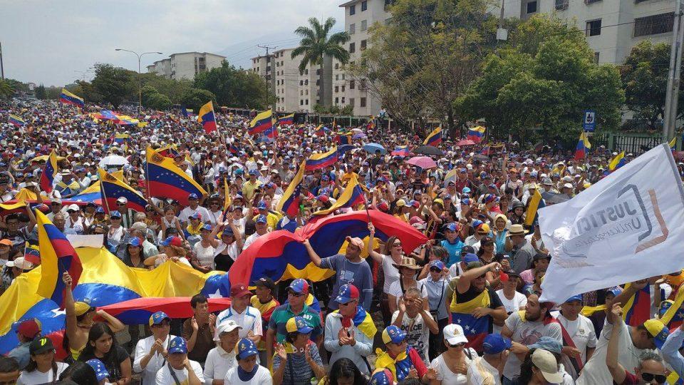 Současná situace ve Venezuele je velmi bouřlivá