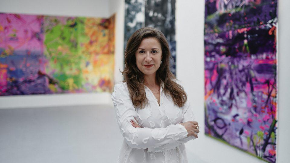Barbora Půlpánová v Trafo Gallery