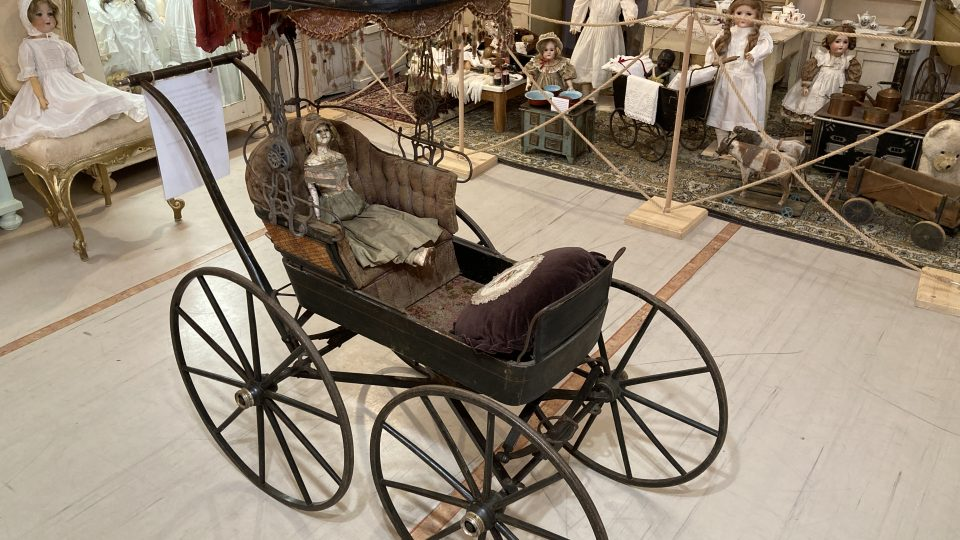 Kočárek americké výroby z roku 1880