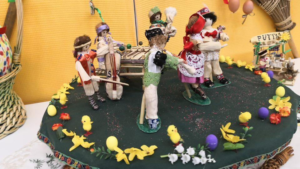 """19. jarní velikonoční výstava pod názvem """"Velikonoce - svátky jara"""" v Častolovicích"""