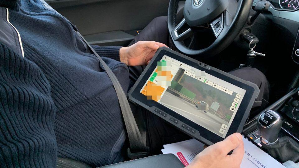 Nová policejní kontrola elektronických dálničních známek