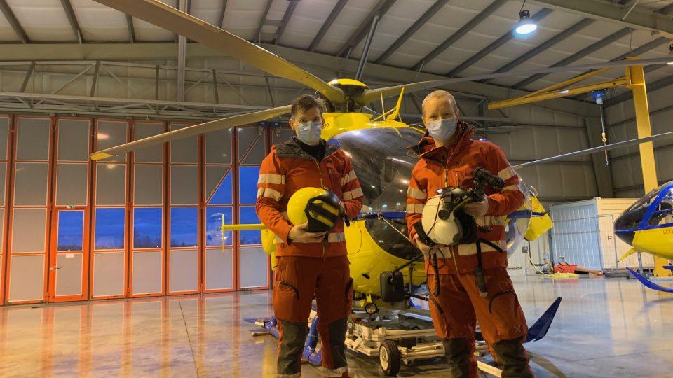 Základna letecké záchranky v Hradci Králové začala fungovat v nepřetržitém provozu, tedy i v noci