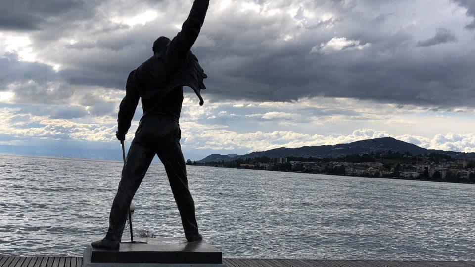 Freddie Mercury v podání české sochařky Ireny Sedlecké