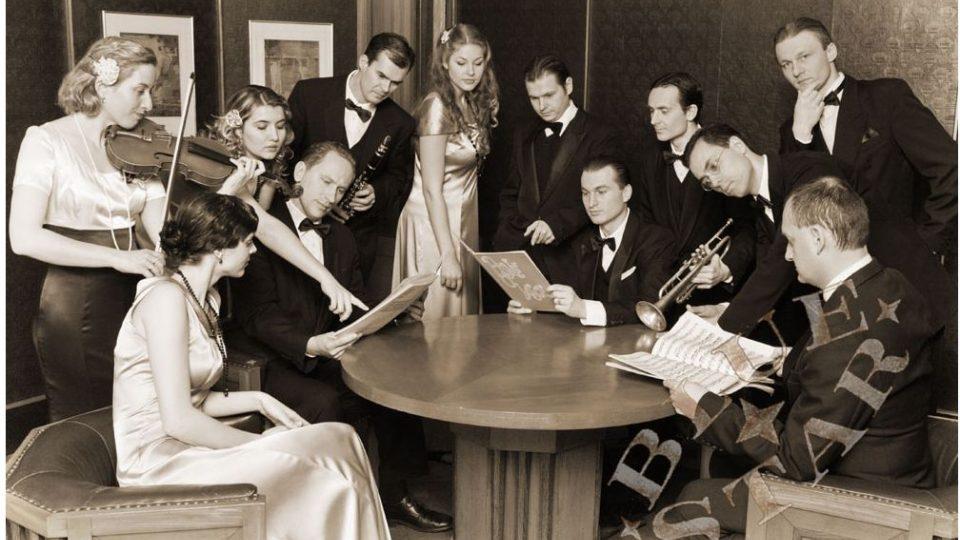 Václav Marek & His Blue Star - Swingová a taneční hudba 30. - 40. let 20. století