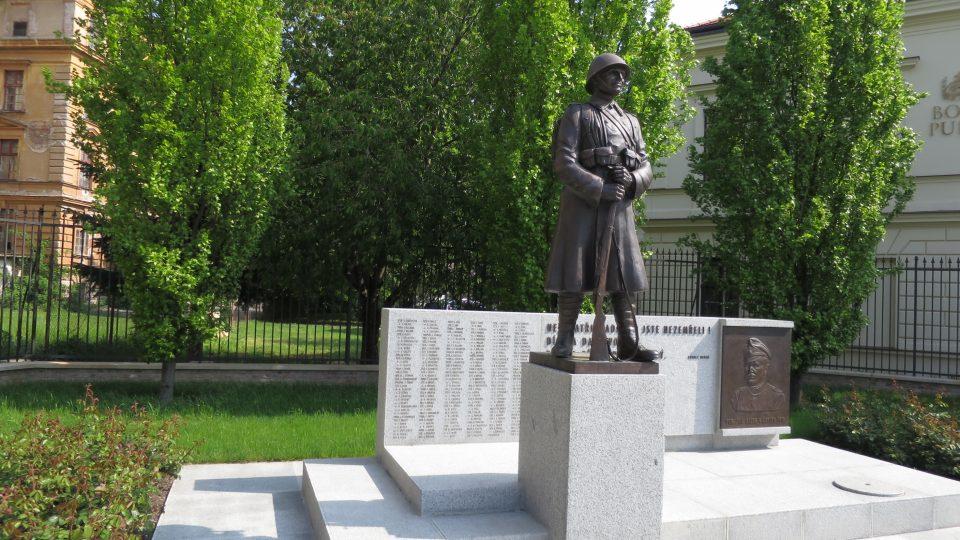 Památník Jana Gayera a padlých legionářů z první světové války v Hradci Králové