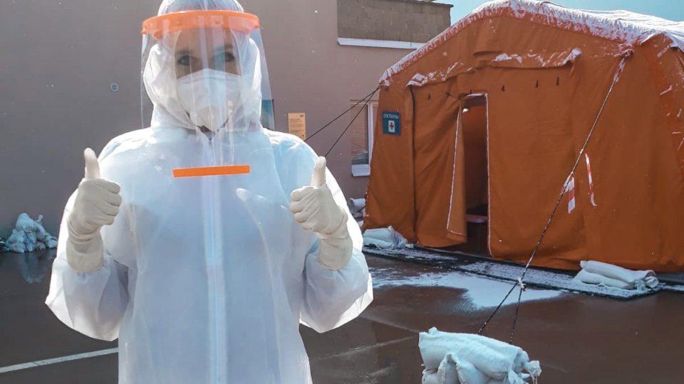 Medička Dominika Kalenská bojuje v první linii s pandemií koronaviru