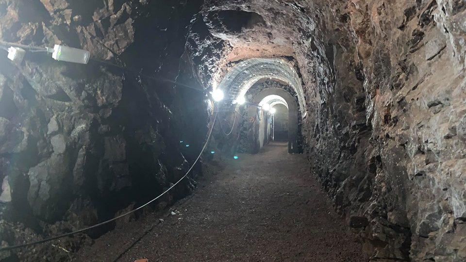 Stachelberg, největší dělostřelecká tvrz v Čechách - nouzový východ