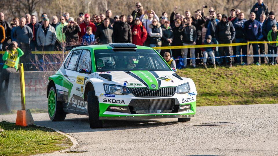 Jan Kopecký na Valašské Rally 2019