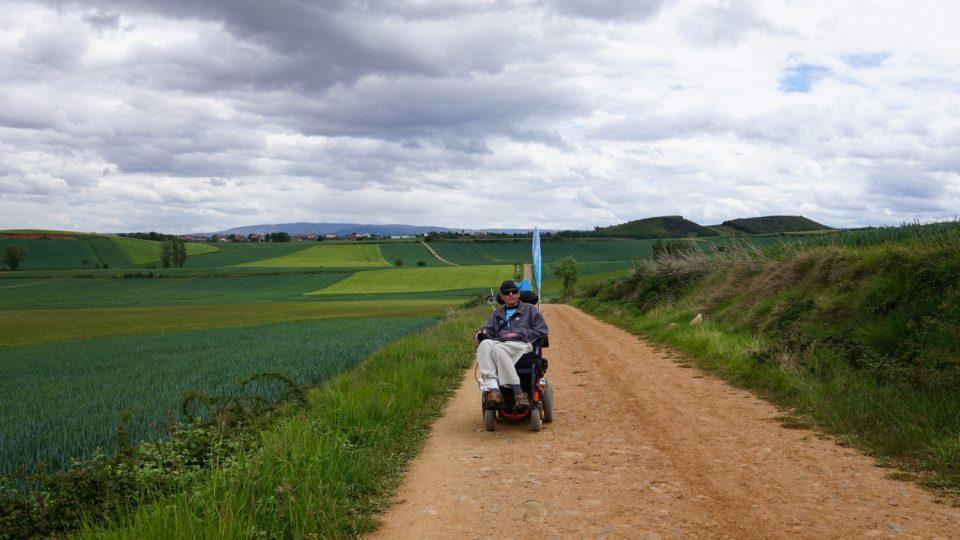 Camino na kolečkách vyslalo poselství, že každý může podniknout svoji cestu a překonat překážky