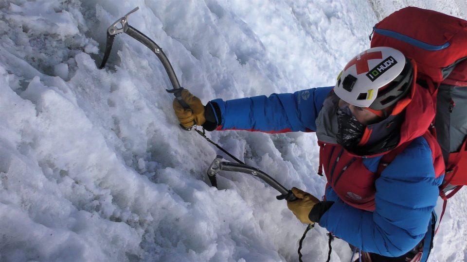 Horolezec Radek Groh a dramatický prvovýstup na Baruntse