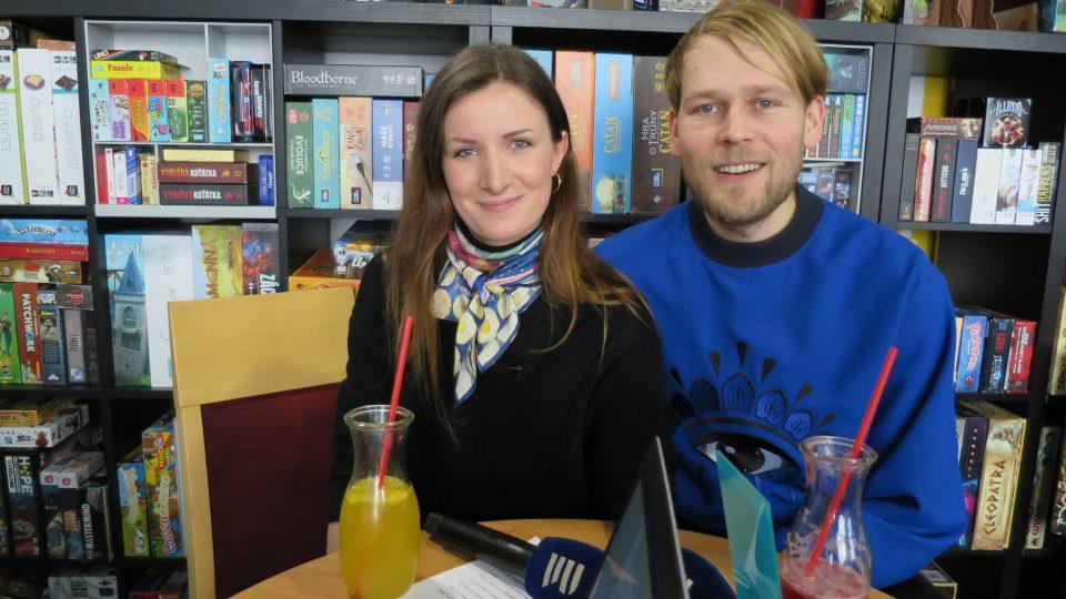 Andrea Vytlačilová a Josef Zlamal hosty Lady Klokočníkové