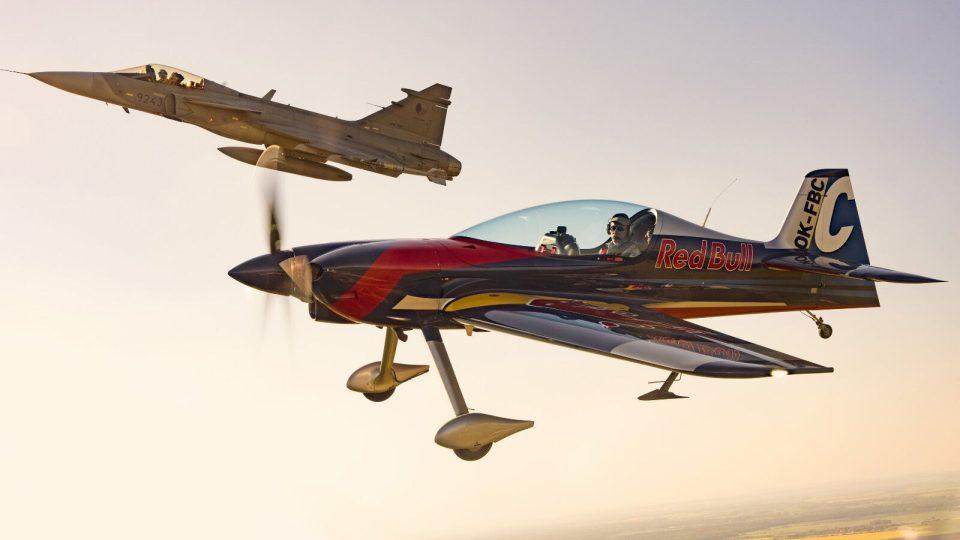 Gripen a The Flying Bulls Aerobatics Team