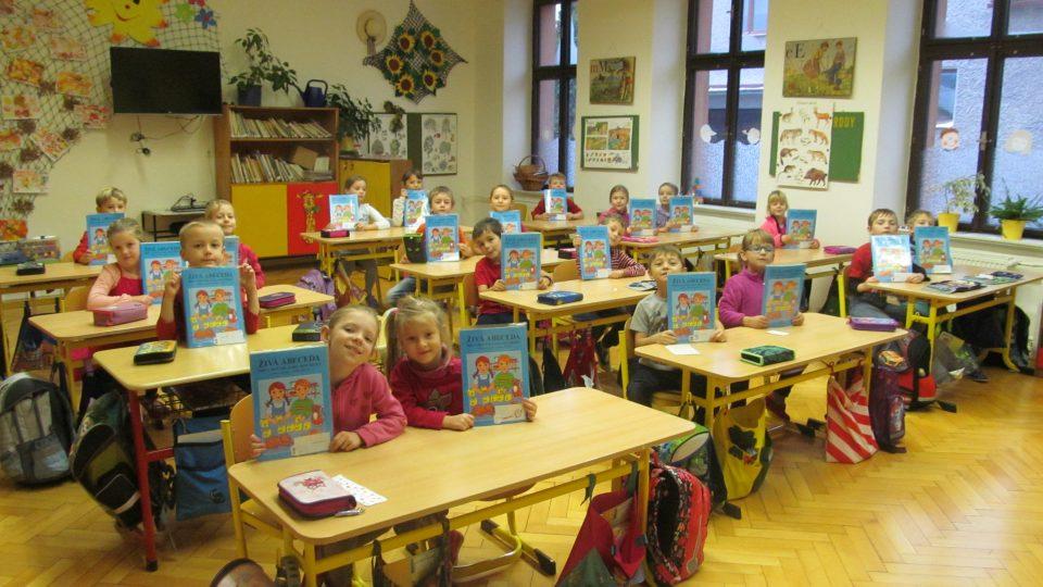 1. třída ZŠ Lhota za Červeným Kostelcem