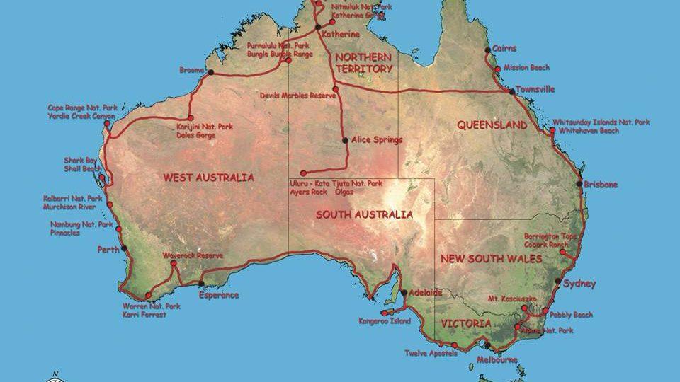 Křížem krážem Austrálií aneb za fascinující přírodou rudého kontinentu