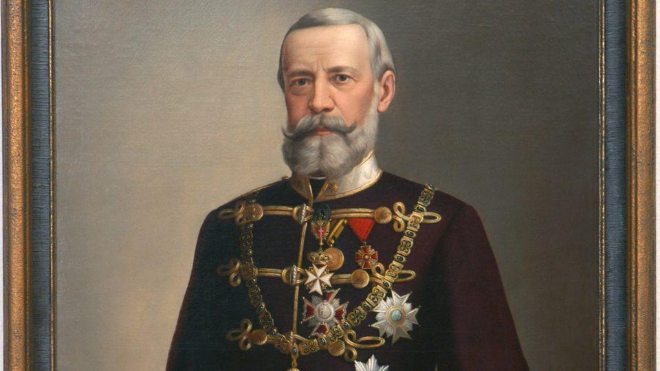 W. Kretschmer: Jan Nepomuk František hrabě Harrach, olej, plátno, konec 19. století