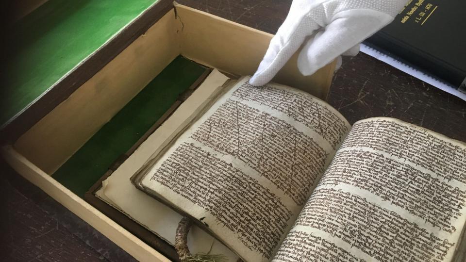 Pergamenové listy Knihy svědomí