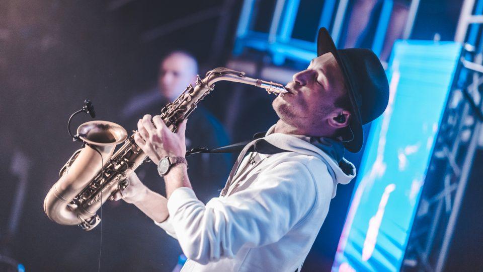 DJ & saxofonista aneb Saxofrancis František Šalanda
