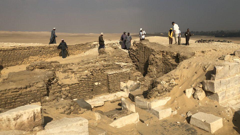 Naleziště v egyptském Abúsíru