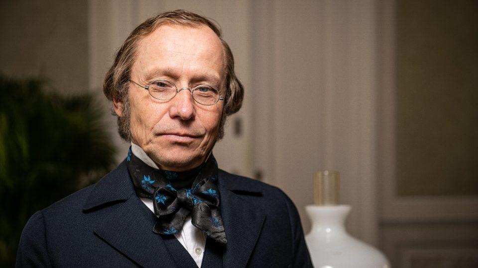 Ondřej Malý jako František Ladislav Čelakovský v minisérii Božena