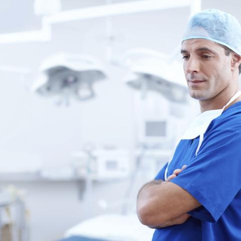 Lékař (ilustrační foto)