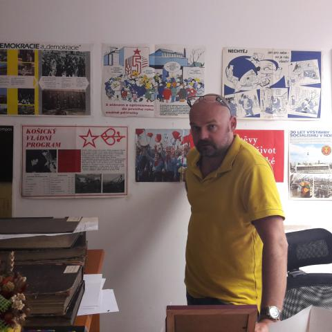 Lubomír Novotný, autor nové publikace o krčmaňské aféře