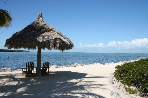 Pláž na Floridě