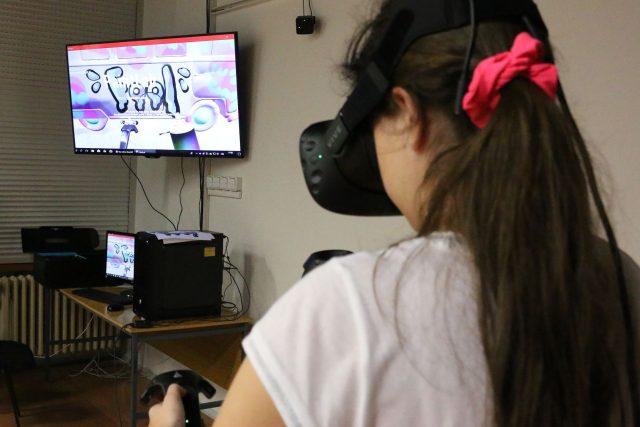 Virtuální realita je realitou v ZUŠ Střezina v Hradci Králové