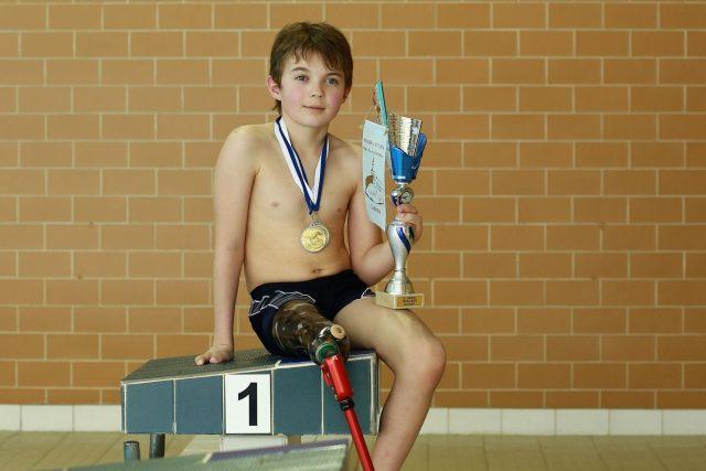 Talent paralympijského plavání Petr Frýba