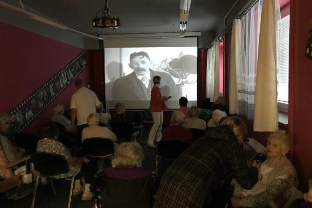 Seniorské kino v Domově důchodců Tmavý důl