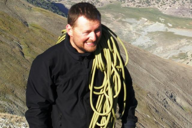 Houslista,  horolezec a dobrodruh Viktor Kuna | foto: Viktor Kuna